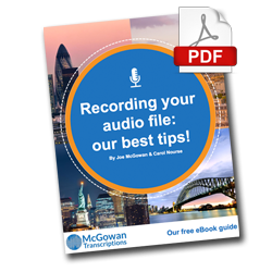 Recording Guidelines eBook